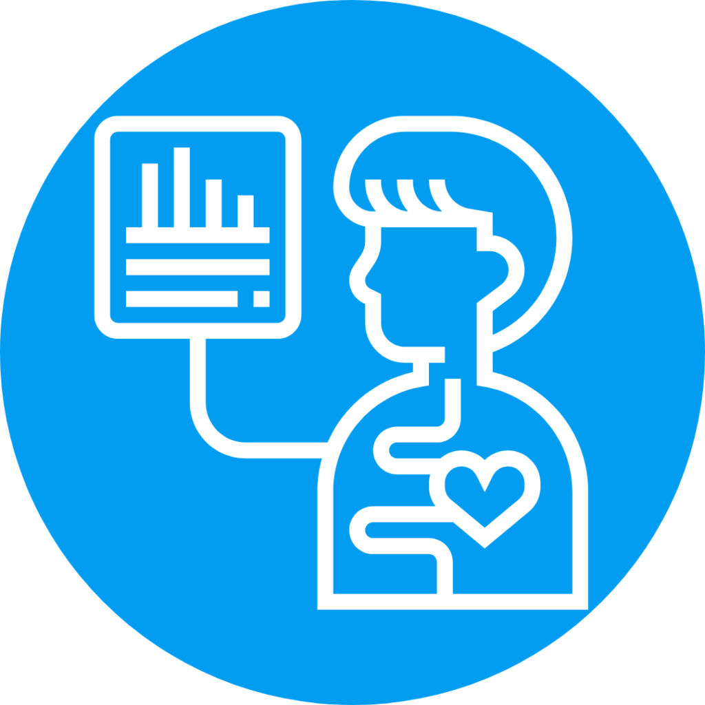 Icon for assessment.